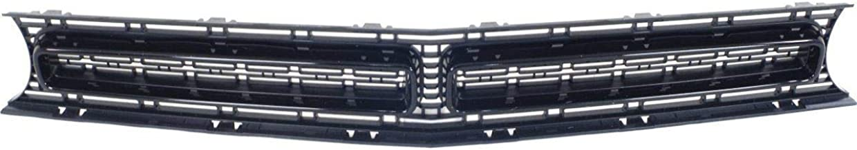 New Front Grille For 2015-2018 Dodge Challenger For Scat Pack And Srt 392 Models Matte Black With Black Molding CH1200390