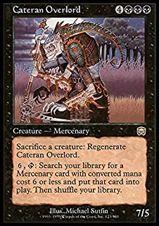 Magic: the Gathering - Cateran Overlord - Mercadian Masques