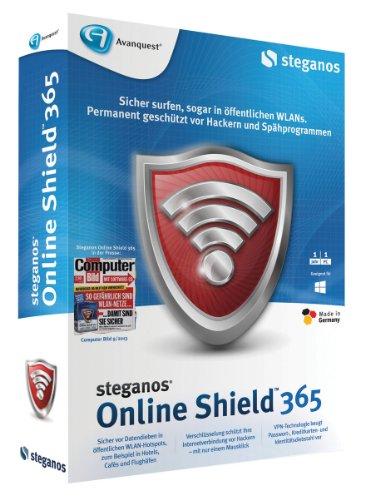 Preisvergleich Produktbild Steganos Online Shield 365