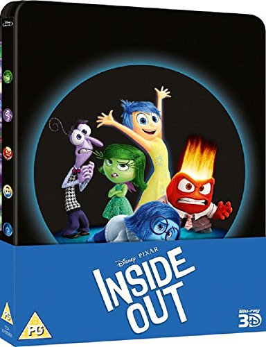 Inside Out 3D (Includes 2D Version + Exclusive Bonus Disc) - Limited Edition Steelbook Blu-ray