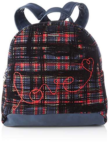 Desigual Backpack Inlove venice Mini  Mochila moderna. para Mujer  Grün  Musgo   28x10.5x28.1
