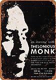 Kia Haop 1959 Thelonious Monk In New York City Metall