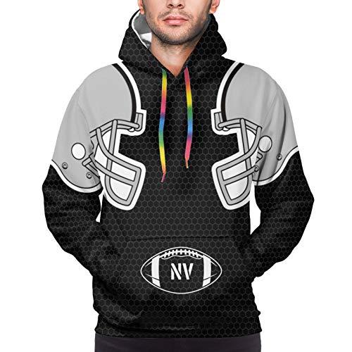 CHARM DANLONG Football Hoodies Las Vegas Shirt Sweatershirt Long Sleeve Helmet Pattern Hooded Apparel Sports Mens Women S Size