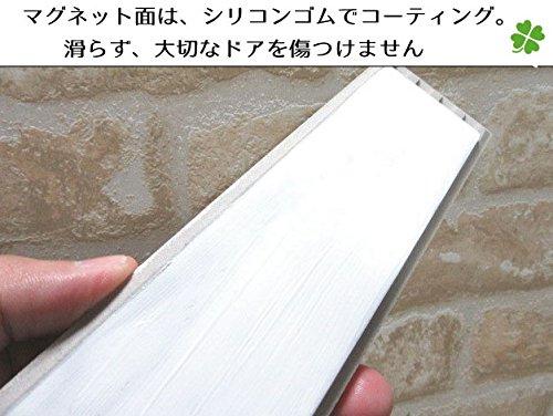 ≪送料無料≫デザイン表札強力マグネット仕様!シンプルだけどカワイイ♪タイルプレート絵柄、文字の配色を自由に変えられます。
