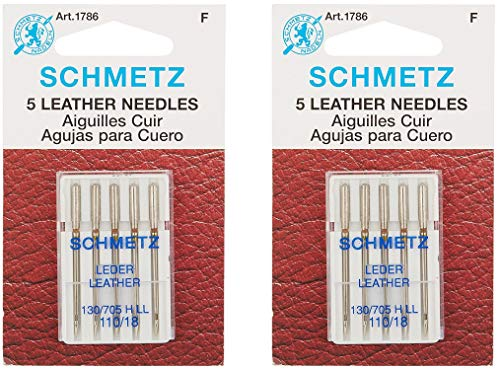 Why Choose Schmetz Leather Machine Needle Size 18/110 (2 Pack)