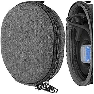 Geekria UltraShell Case for AfterShokz Xtrainerz, Aeropex, Air, AS700, AS800, AS650 Wireless Bone Conduction Headphones, Replacement Protective Hard Shell Travel Carrying Bag with Room from GEEKRIA