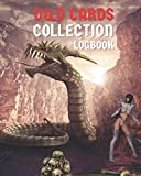 D&D Cards Collection Logbook: Dungeons Dragons Fantasy Game Card Edition Collectables Indexing Book for 5e DM & DnD RPG Players With Pages To Log & ... & NPC Cards Collection Index Information