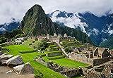 GZSXJL Rompecabezas de 1000 Piezas para Adultos, Machu Picchu, Perú, Arte Moderno, decoración del hogar, Regalo, Juguetes de Madera, Juegos Divertidos, Gran Regalo Educativo para niños