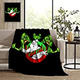 Ghost-Busters Fleece Blanket Micro Super Soft Cozy Couch...