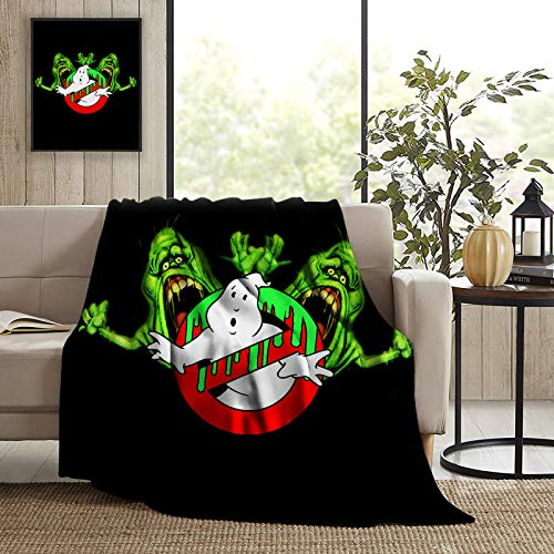 Ghost-Busters Fleece Blanket Micro Super Soft Cozy Couch Blankets Summer All Season Decorative Throw Bed Blankets Warm Soft Comfort Flannel Blanket for Home Bedding Living Room50 X 40 inch