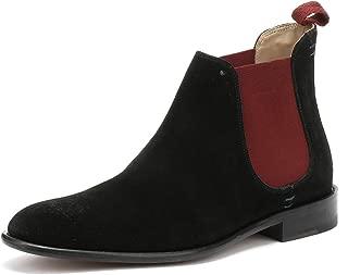 Silsden Black Suede Mens Boots