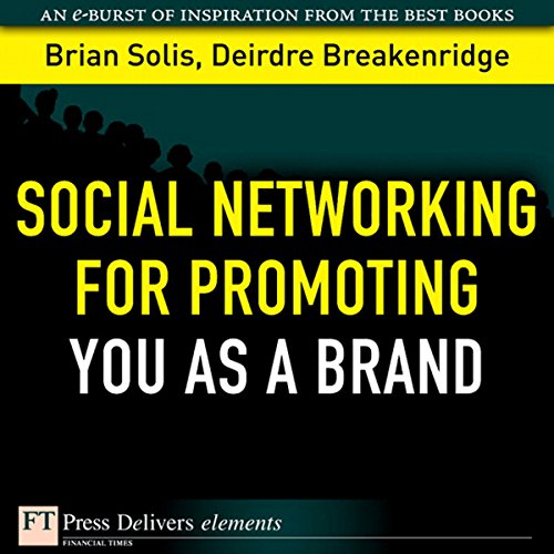 Social Networking for Promoting YOU as a Brand audiobook cover art