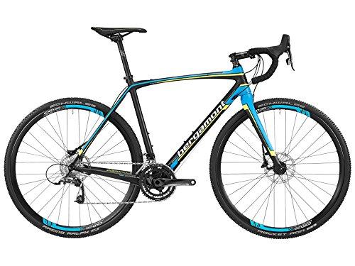 Bergamont Prime CX Team Carbon Cross Bike Querfeldein schwarz/blau/gelb/weiß 2016: Größe: 52cm (164-172cm)