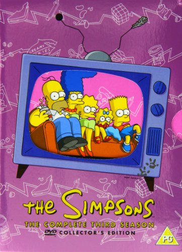 Simpsons The Season 3 DVD [Reino Unido]