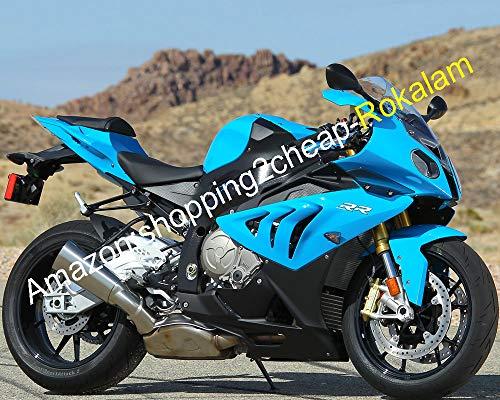 Carénage complet bleu noir pour moto S1000RR 10 11 12 13 14 S 1000RR 2010 2011 2012 2013 2014 S1000 RR ABS Aftermarket Kit carénages (moulage par injection)