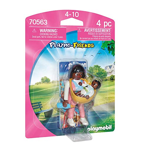 PLAYMOBIL PLAYMO-FRIENDS 70563 Mama mit Babytrage, Ab 4 Jahren