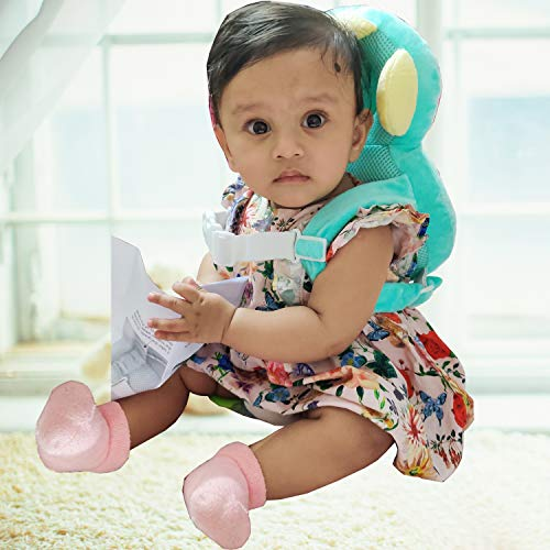 Kiddale Baby Head Protector for Crawling or Corner Guard, Protection Helmet and Infant Headrest Pillow with Front Safety Lock