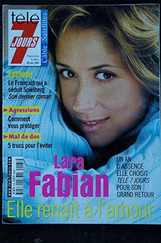 Télé 7 Jours 2165 * 2001 * Lara FABIAN Sandrine BONNAIRE Lou DOILLON Ray Cokes Woody ALLEN Dechavanne