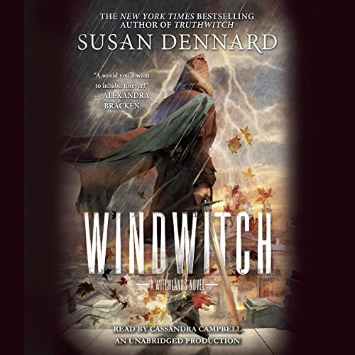Windwitch audiobook cover art
