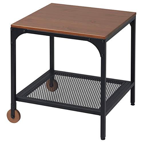 IKEA FJÄLLBO Mesa auxiliar 45x46,2 cm negro