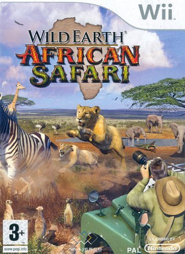 Wild Earth African Safari (Wii) by Codemasters