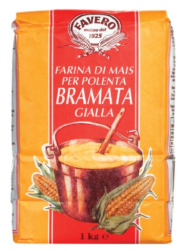 Favero Polenta, grob gemahlen / Maisgrieß 1 kg.