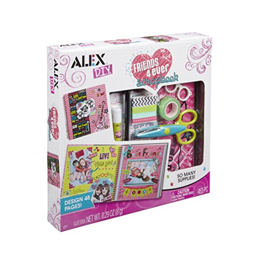 Alex DIY Friends 4 Ever Scrapbook Kids Art and Craft Activity