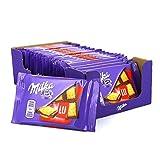 QUAND MILKA RENCONTRE LU... Retrouvez le fondant du célèbre carré de chocolat Milka et le croustillant de délicieux mini-biscuits : d'adorables petits LU, une vraie promesse de gourmandise FORMAT POCHE : Idéal à emporter pour toutes vos pauses plaisi...