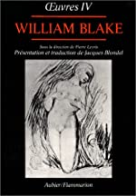 Vala ou les Quatre vivants de William Blake