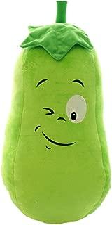 Kylin Express Cute Vegetables Hand Warm Plush Hold Pillow Stuffed Soft Toy,Gourd 60cm¡¢KE