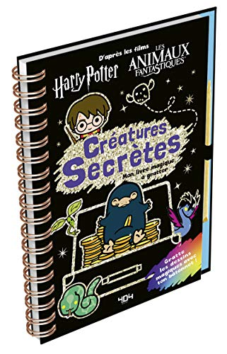 Harry Potter : Créatures secrètes - Livre à gratter/Loisirs créatifs - Dès 7 ans