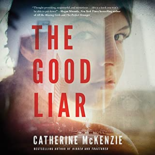 The Good Liar audiobook cover art