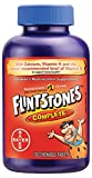 Flintstones Complete Chewables Children's Multivitamins, Kids Vitamin Supplement with Vitamins C, D, E, B6, and B12, 180 Count