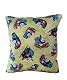 Thomas The Train Pillow Thomas The Tank Engine Flannel Pillow All Our Pillows Are Handmade Hypoallergenic Cotton with Flannel Backing Ideal for Gift and Multiple Uses