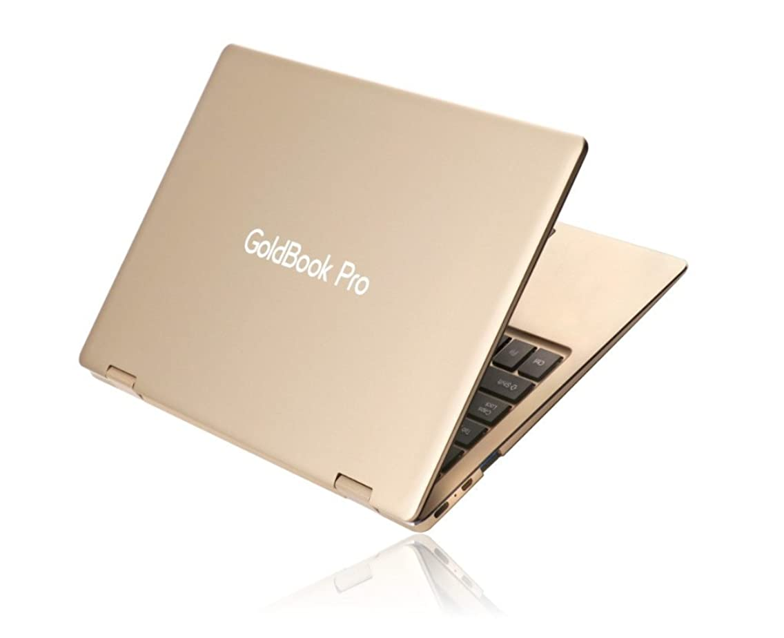 GoldBook Pro (2-in-1 Laptop with Reversible Touchscreen Display)