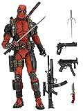 NECA Deadpool Figura de 45 cm, Escala 1:4, Marvel (NEC0NC61384)
