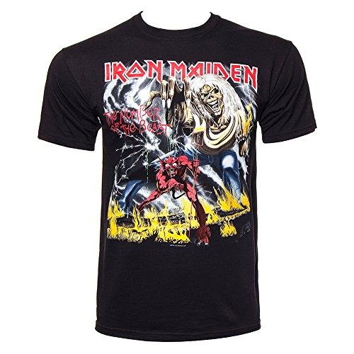 T Shirt Iron Maiden Beast (Nero) - Large