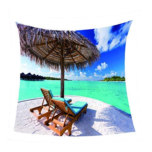 Manta De Franela Silla De Playa Patrón De Impresión Picnic Al Aire Libre Suave Decoración Cálida