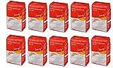 10 x 1kg Weizenmehl Typ 405 Qualitätsweizenmehl Mehl