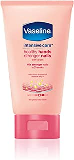 Vaseline Intensive Care Hand Lotion, Healthy Hands Stronger Nails - 75 ml