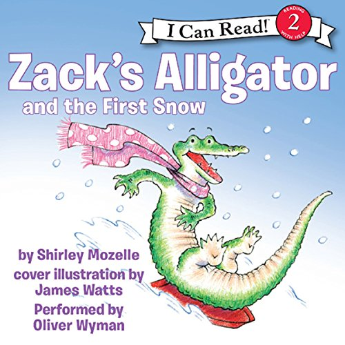 Zack's Alligator and the First Snow audiobook cover art