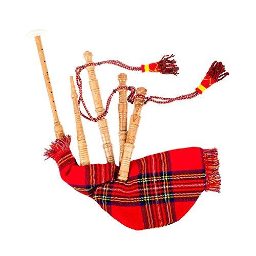 Tartan City spielbarer Dudelsack, Spielzeug für Kinder, Schottisch