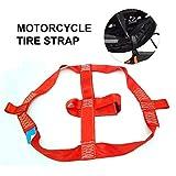 Lancei Motorrad Radgurte Fahrzeug Befestigungsgurt Motorrad Reifengurt Hinterradgurt