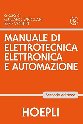 Manuale di elettrotecnica, elettronica e automazione