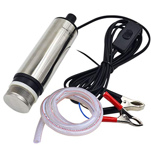 MEI XU Elektrische pumppumpe 12v24v ölpumpe tauchpumpe Micro ölpumpe kleine ölpumpe kleine pumpe tauchpumpe dieselpumpe selbstansaugende pumpe Pumpe (Farbe : 24V)