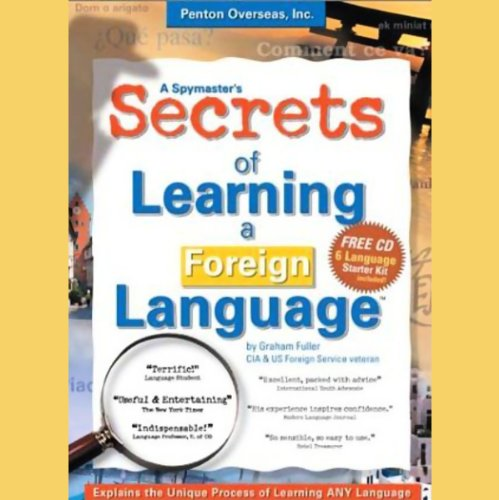 A Spymaster's Secrets of Learning a Foreign Language audiobook cover art