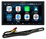"Best Alpine Bluetooth Audio Receivers - ALPINE iLX-W650 7"" Digital Media Bluetooth Carplay Receiver+License Review"