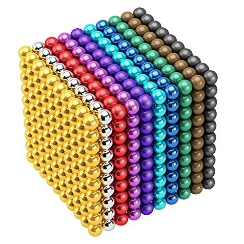 5 milímetros 1000 piezas M-agnéticas bolas bloques de juegos de construcción juguetes para el desarrollo de aprendizaje