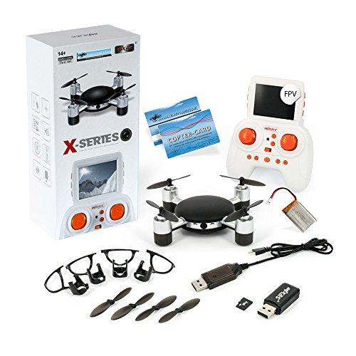 Unbekannt DS24 MJX X906T Mini Lilly Kamera Drohne FPV und hochwertigem LCD Display 5.8Ghz Drone
