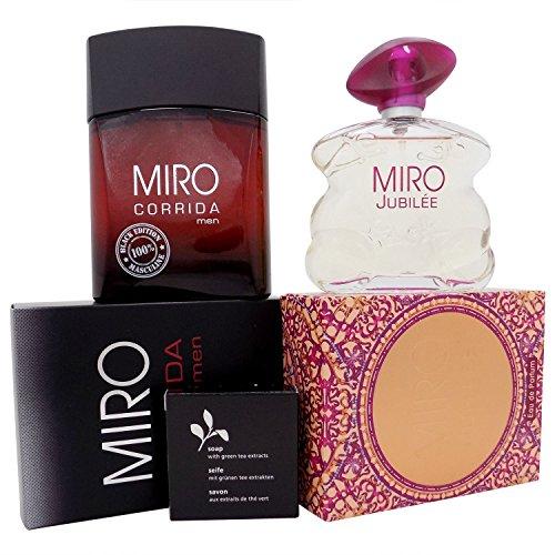 Miro CORRIDA men BLACK EDITION EdT 100 ml + Miro JUBILEE EdP 75 ml